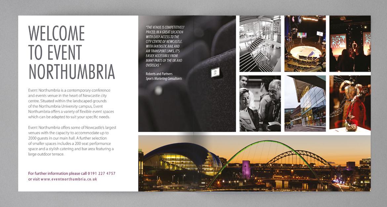 ellen longhorn design work conference brochure print design
