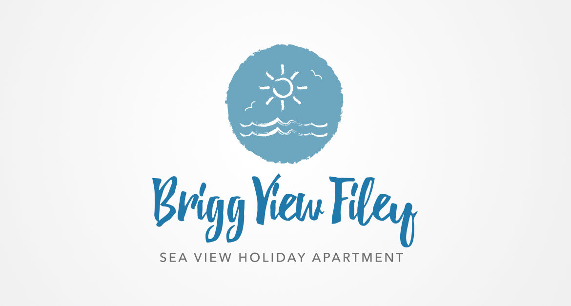 Brigg View Filey Logo Design