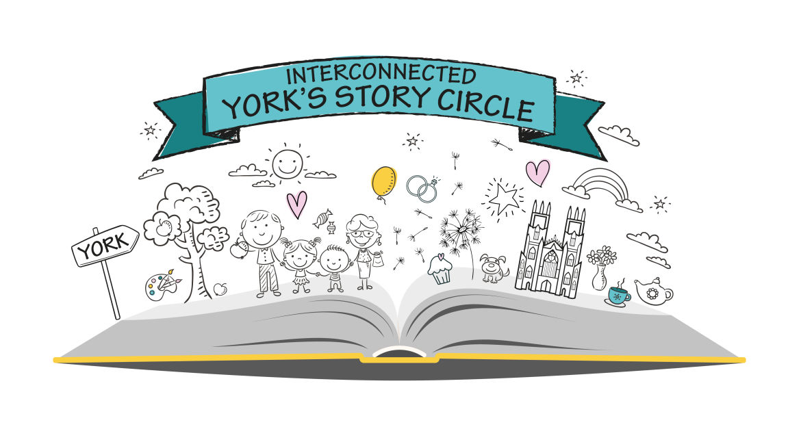 Interconnected York's Story Circle - Logo Design