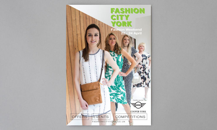 Fashion City York Brochure - Print Design
