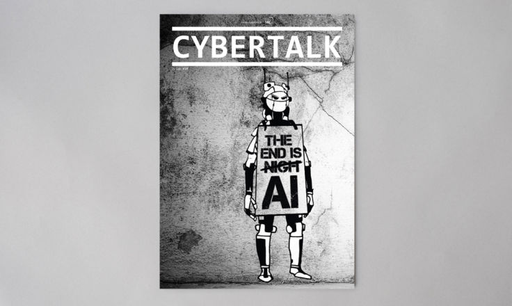 CyberTalk 10 Magazine - Print Design