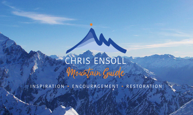 Chris Ensoll -  International Mountain Guide, mentor and coach - Logo Design