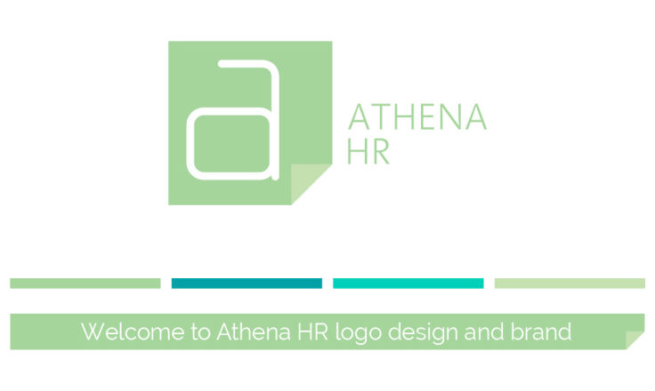 Athena HR - Logo Design